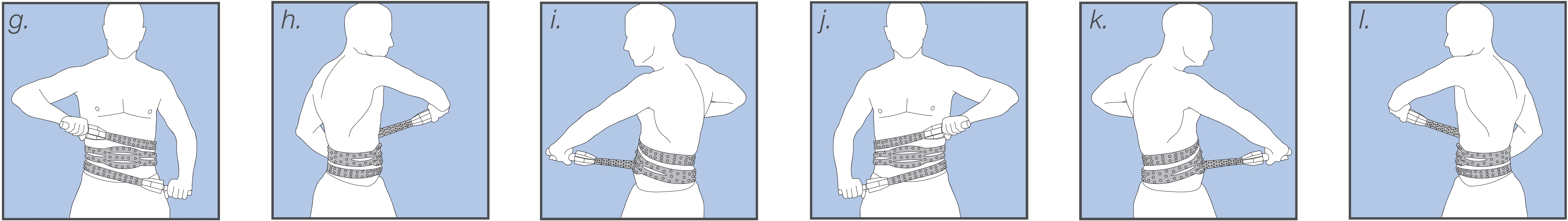 XGrip Traine body shaper, how to perform exercise two: The Cross Pull