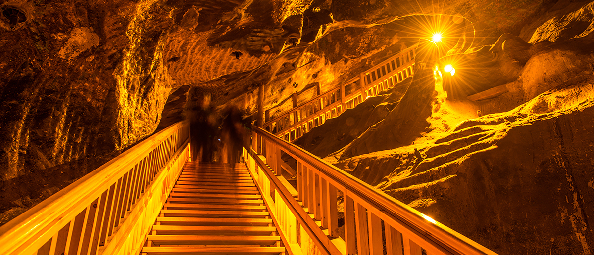 salt mine Europe that was used for salt therapy