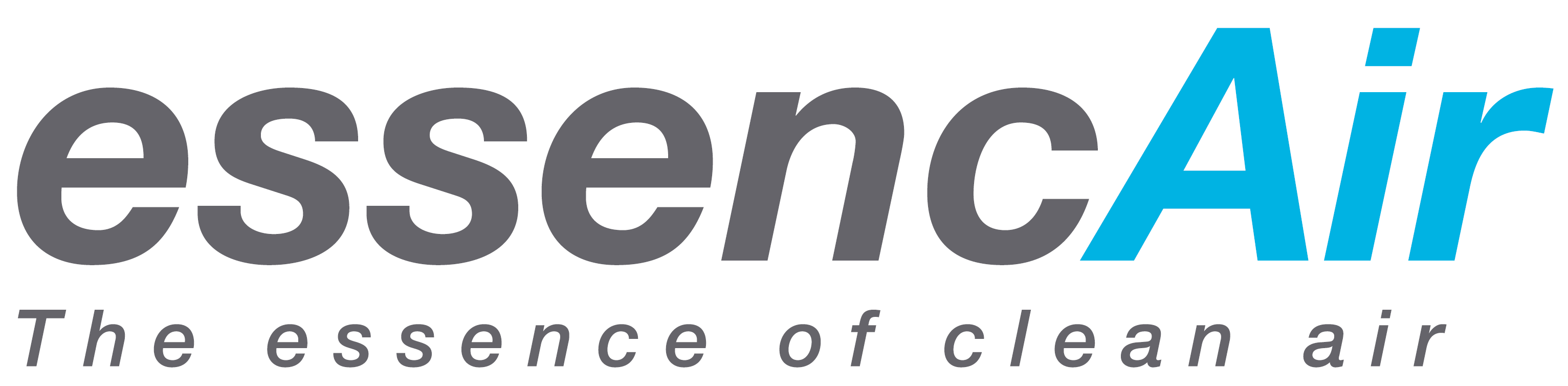 logo of essencAir, the essence of clean air